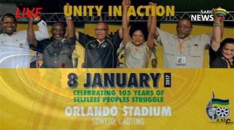 ANC 105 Birthday Celebration FC Hamman Films