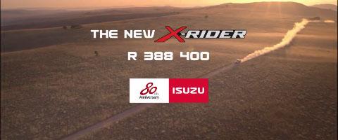 Isuzu X Rider FC Hamman films