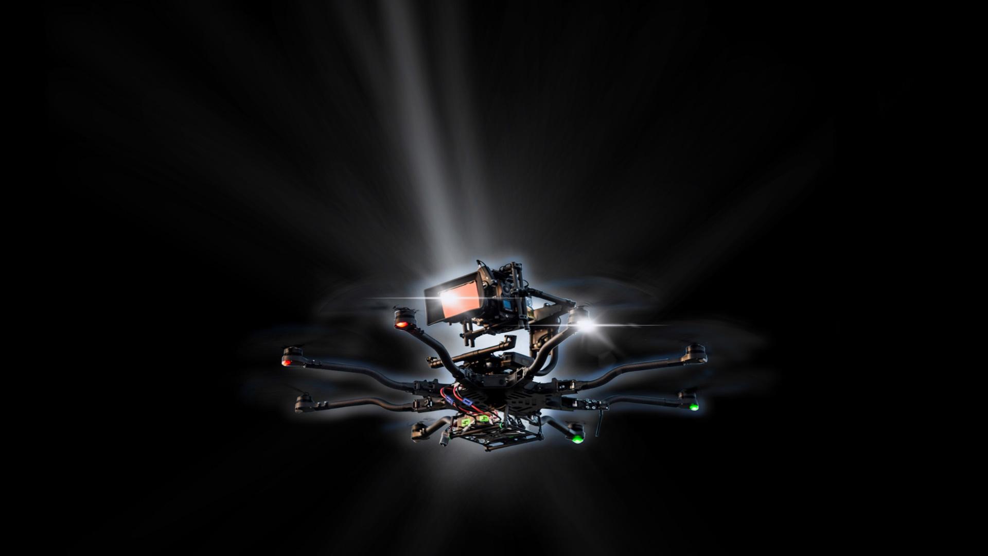 Hamman Drones Logo Background